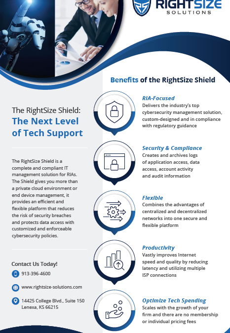 Benefits of the RightSize Shield